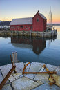 Famous fishing shack Royalty Free Stock Photo