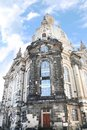 Famous frauenkirche church our lady dresden germany Royalty Free Stock Images