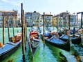 The famous gondola in venice italy Royalty Free Stock Images