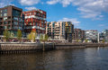 Famous hafencity nord in the speicherstadt in hamburg germany Stock Photos