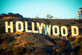 Famous Hollywood Sign With The...