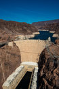 Famous hoover dam near las vegas nevada the usa Stock Image