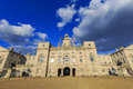 The famous Horse Guards Parade Royalty Free Stock Photo