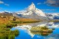 Famous Matterhorn Peak And Ste...