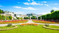 Famous Mirabell Gardens in Salzburg, Austria Stock Photos
