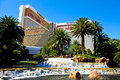The famous the mirage hotel and casino in las vegas Stock Photo