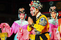 Famous Monkey King opera performance Stock Photos