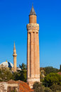 Famous mosque in antalya turkey architecture background Stock Photo