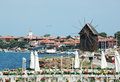 Famous Nesebar island - unesco heritage Stock Photos