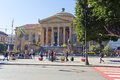 The famous opera house Teatro Massimo in Palermo, Italy. Royalty Free Stock Photo
