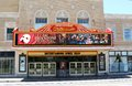 The famous orpheum theater memphis tennessee front view of and performance stage in historic downtown Stock Photography