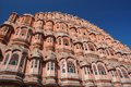 Famous Palace of winds or Hawa Mahal in Jaipur,Rajasthan,India Stock Photo