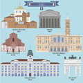 Famous Places in Italy Royalty Free Stock Photo