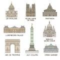 Famous places. Paris