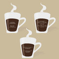 Famous quotes on coffee cup