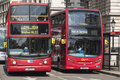 Famous red double-decker London bus Royalty Free Stock Image