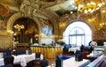 The famous restaurant Le Train Bleu at Gare de Lyon in Paris