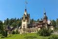Famous royal Peles castle,Sinaia,Romania Royalty Free Stock Photo