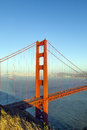 Famous San Francisco Golden Gate Royalty Free Stock Images