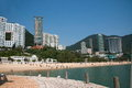 Famous scenic repulse bay beach hong kong s area Stock Image