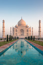 Famous taj mahal agra india asia Stock Photos