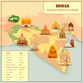 Famous Temple Map Of India