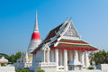 Famous temple in thailand buddhist Royalty Free Stock Photography
