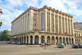 Famous  Theater and Cine Payret building in old Havana, Cuba Royalty Free Stock Photography
