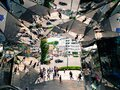 Famous tourist attraction like kaleidoscope in Tokyo, Japan - TOKYU PLAZA. Royalty Free Stock Photo