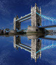 Famous Tower Bridge, London, UK Stock Photo