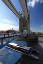 Famous Tower Bridge, London, UK Royalty Free Stock Photos