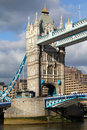 Famous Tower Bridge, London, UK Stock Image