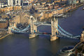 Famous tower bridge river london uk Royalty Free Stock Photos
