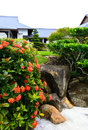 A famous traditional Japanese garden Stock Photos