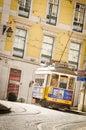 Tram 28 at Lisboa Royalty Free Stock Photo