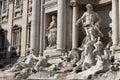 Famous trevi s funtain rome italy made salvi Stock Photos