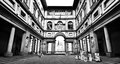 Famous Uffizi Gallery in Florence, Italy Royalty Free Stock Photo