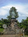 Famous and very old statue in japan i forgot about the history but remember first time saw monkey king story Royalty Free Stock Image
