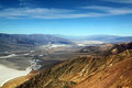 Famous view over death valley national park usa as seen zabrisky point Stock Photography