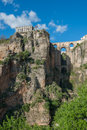 Famouse bridge ronda andalusia ronda spain Stock Images