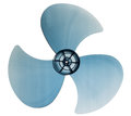 Fan blade electric isolated on white background and clipping path Royalty Free Stock Photos
