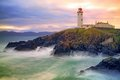 Fanad Lighthouse, Co. Donegal, Ireland Royalty Free Stock Photo