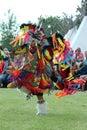 Fancy Dance - Powwow 2013 Royalty Free Stock Photo