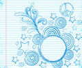 Fancy doodle Royalty Free Stock Photography