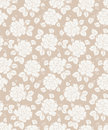 Fancy seamless floral background vector Royalty Free Stock Photos