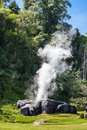 Fang hot springs in chiang mai province thailand Royalty Free Stock Photography