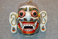 Fangs mask some eastern primitive religions worship beast people wearing a beast worship Royalty Free Stock Image