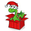Fanny dragon in box Stock Image