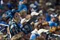Fans NFL New Orleans Saints Vs Carolina Panthers Stock Photo