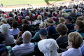 Fans watch arizona diamondbacks play san diego padres salt river fields scottsdale arizona salt river fields talking stick major Stock Photo